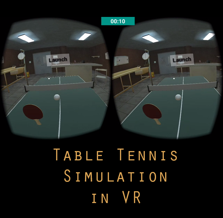 Undergraduate thesis project – Simulation of table tennis game in Daydream, controlled through hand tracking from mobile device camera. OpenCV wrapper for Unity C# has been used to implement tracking via mobile camera.                                  Platform: Google Daydream, Team Size: 3. Date: Spring 2017